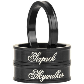 "Sixpack Skywalker Spacer - 1 1/8"" noir"